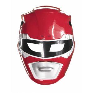 Masque Power Rangers rouge enfant Taille Unique