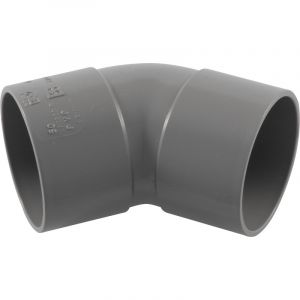 Coude 45deg PVC Ø50mm FF