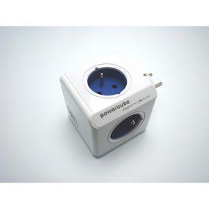 Allocacoc PowerCube Alimentation avec 4 prises 230 V Blanc