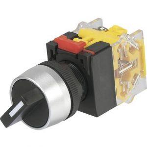 Tru Components Commutateur rotatif 2 x Off/(On) 704706 250 V/AC 5 A 2 x 45 ° IP40 1 pc(s)