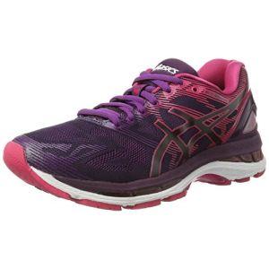 sale retailer 642b5 11f8d Asics Gel-Nimbus 19, Chaussures de Running Femme, Noir (Black Cosmo