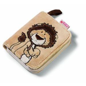 Nici Porte monnaie Lion peluche pour enfant