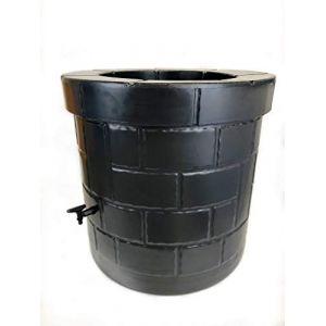 Puit recuperateur d'eau PEHD 340 L Noir
