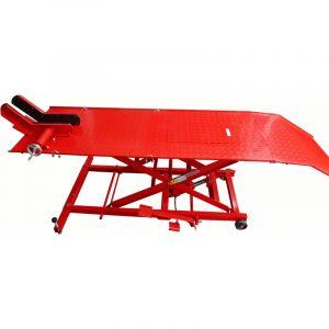 Trad4u Table de levage hydraulique pont élévateur 450Kg pour moto