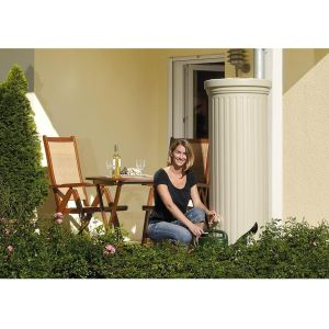 Garantia Récupérateur style colonne romaine - Kit complet coloris sable