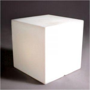 Slide Cube Design et Lumineux d'intérieur 40 cm Cubo - Lumineux Blanc - Intérieur