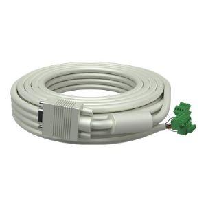 Vision TC2-15MVGA - Câble VGA HD-15 (M) Phoenix 4 broches (M) 15 m Moulé