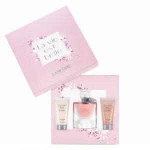 Lancôme La Vie est Belle - Coffret eau de parfum, lait parfumé et gel douche