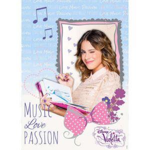 Violetta Music Love Passion - Toile tendue sur châssis (50 x 70 cm)