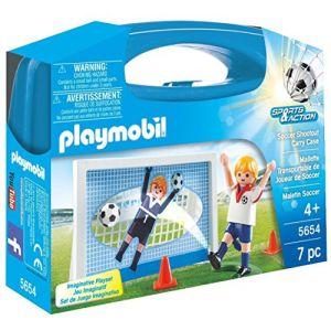 Playmobil 5654 - Valisette Footballeur