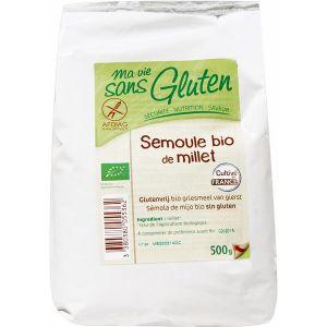 Ma vie sans gluten Semoule de millet 500g