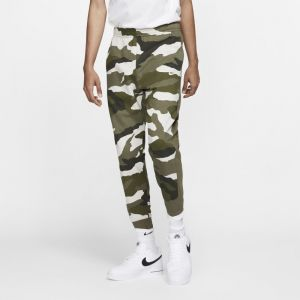 Nike Pantalon de jogging camouflage en molleton Sportswear Club pour Homme - Olive - Taille XS - Male