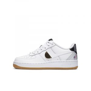 Nike Enfant Air Force 1 Lv8 1 Junior Nba Blanche Baskets