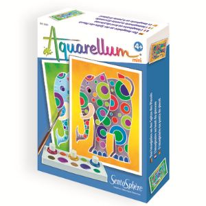 Sentosphère Aquarellum Mini : Éléphants