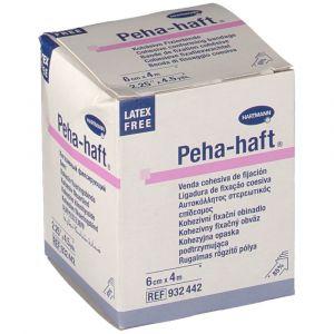 Hartmann Peha Haft bande sans latex 4 m x 6 cm