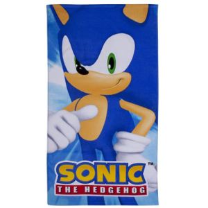 Character World Serviette de bain Sonic The Hedgehog (70 x 140 cm)
