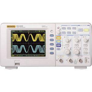 Rigol Oscilloscope numérique DS1102E 100 MHz 500 Méch/s 512 kpts 8 bits 2 canaux