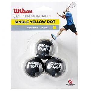 Wilson Staff Squash 3 Ball Dot 3 Balls
