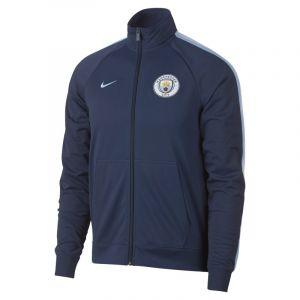 Nike Veste Manchester City FC pour Homme - Bleu - Couleur Bleu - Taille L