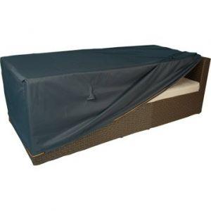 Naterial Housse de protection pour canapé de jardin 3 places 205x75x60cm