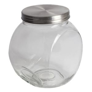Equinox 506524 - Bonbonnière Bonbi 19 en verre et inox