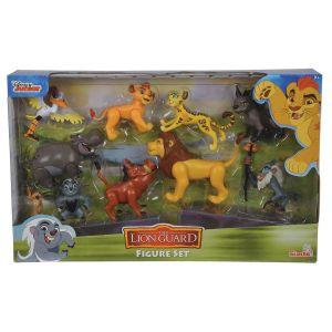 Simba Toys Roi Lion - Coffret 10 figurines 8 cm