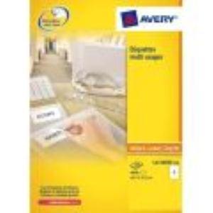 Avery-Zweckform L4736 - 1200 étiquettes d'adresses enlevables (2,12 x 4,57 cm)