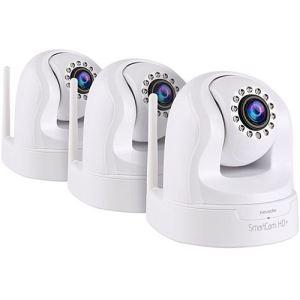 Novodio SmartCam HD+ x3 - Caméra IP HD 960p Wi-Fi motorisée