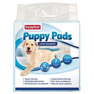Beaphar Puppy Pads Tapis propreté pour chiens 7 pièces