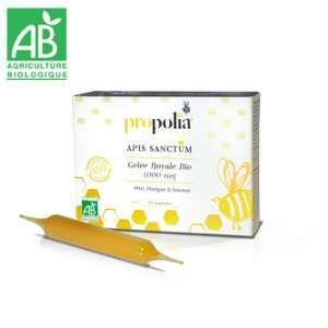Propolia Gelée Royale Bio 1000mg Apis Sanctum x 10 ampoules de 10mL