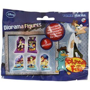 Phineas Ferb - Diorama Figure Sachet X12