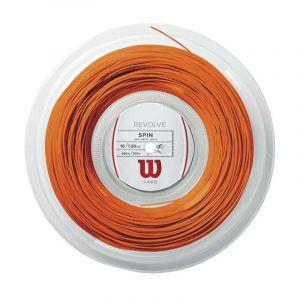 Wilson Ficelle Revolve 200 M - Orange - Taille 1.30 mm