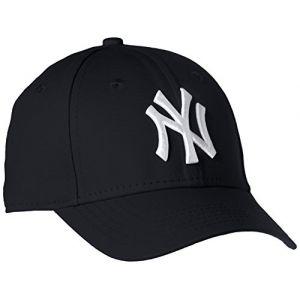 New Era Casquette enfant 9Forty League Basic New York Yankees - Bleu marine/Blanc