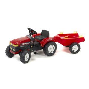 Falk Tracteur à pédales Fiatagri avec remorque PM