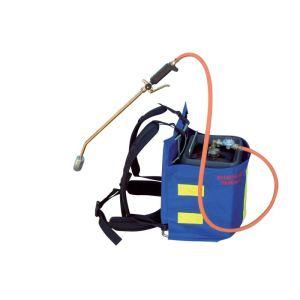 2EBALM 28730 Manuflam Security - Désherbeur thermique à dos avec housse