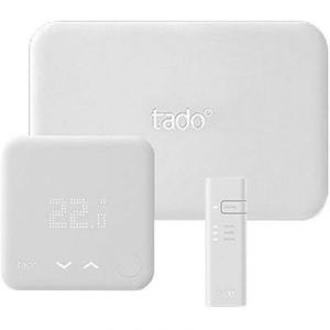 tado Starter Kit : 1 Smart Thermostat + 1 Bridge + 1 Ext Kit