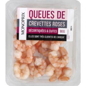 Monoprix Crevettes cuites & décortiquées