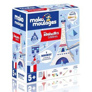 Mako moulages Coffret moulage en plâtre - Ma tour Eiffel - 1 moule