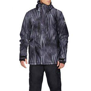 Quiksilver Veste de ski mission printed jacket l