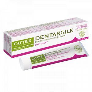 Cattier Dentargile - Dentifrice Bio reminéralisant à l'argile arôme romarin