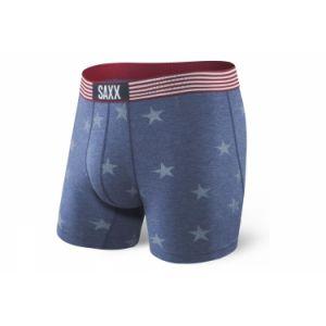 Saxx Underwear Vibe Saxx Vibe Boxer Brief Chambray Americana Caleçons