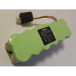 Vhbw Batterie Ni-MH 2100mAh (14.4V) pour aspirateur robot Navibot