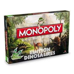 Winning Moves Monopoly Dinosaures