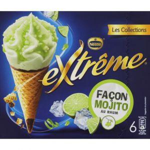 Nestlé Extrême - Cône façon mojito au rhum
