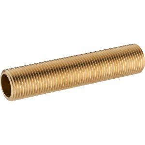 Noyon & Thiebault Traversée de cloison + 2 contre-écrous long.100 mm 12x17
