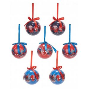7 boules de Noël Disney Spider-man