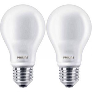 Philips Ampoule LED Classic 40W A60 E27 WW 230V FR ND 2BC/6