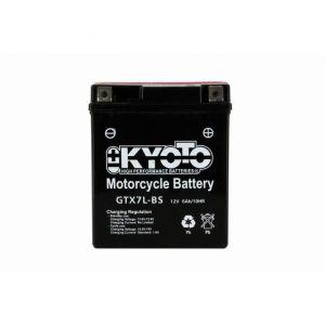 Kyoto Batterie 12V YTX7L-BS (acide fourni)