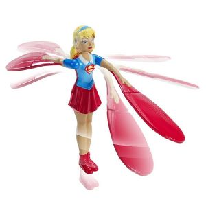 Mattel Figurine volante Supergirl 15 cm - DC Super Hero Girls