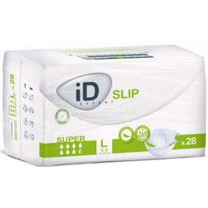 Ontex-ID Expert Slip Super - 28 protections pour incontinence adulte Taille L